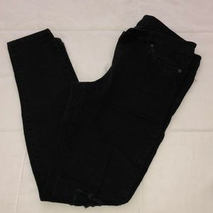 Skinny High Waist Black Jeans